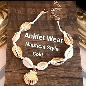 Jewelry - NEW  Nautical Shell Anklet Summer Lovin